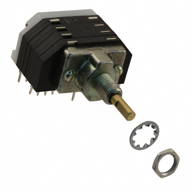 1.5A ELECTROSWITCH D5G0205N-R SWITCH ROTARY 115V DP5T